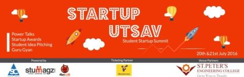 """""""Startup Utsav""""- St.Peter's Engineering College."""
