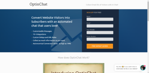 How to configure OptinChat on your Website